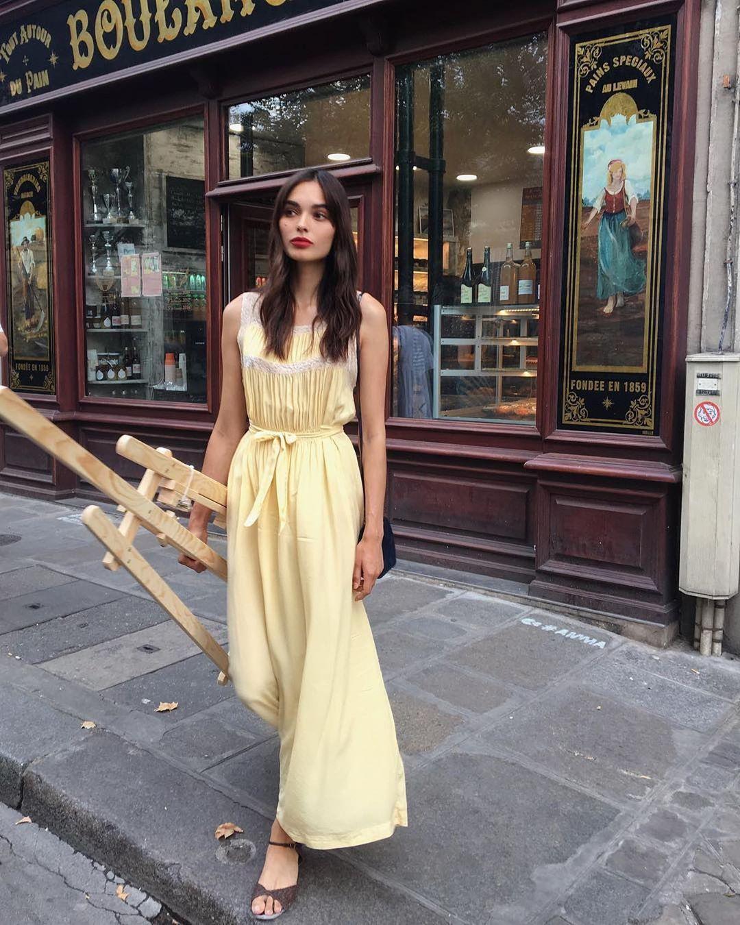 Trời se lạnh mà 'quẩy' váy dáng dài là style sẽ yêu kiều như gái Pháp, điểm sang chảnh cũng tăng ngùn ngụt 7