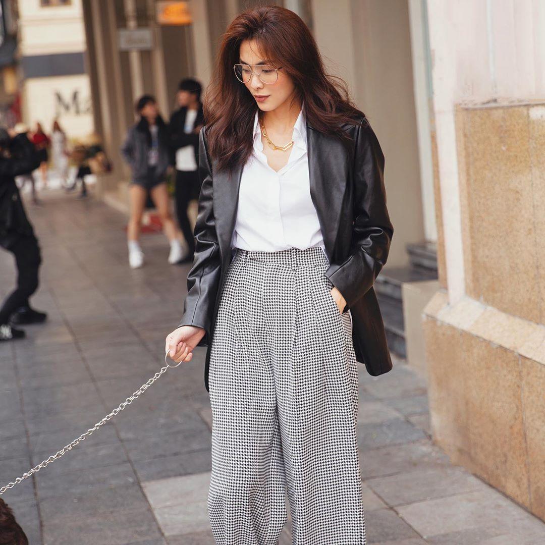 3 kiểu áo khoác khi trở lạnh được lòng hội chị em tuổi 30+ 'nhà Vbiz': Phạm Quỳnh Anh 'buông lơi' như idol Kpop, Hà Tăng lại hack tuổi đỉnh cao không thua gái 18 4