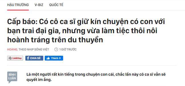 Đại diện Hòa Minzy chính thức lên tiếng về thông tin bí mật 'sinh con trai cho đại gia, vừa làm tiệc thôi nôi ở du thuyền' 0
