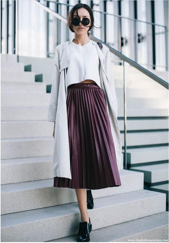 3 kiểu chân váy hot rần rần mùa Thu Đông 2020, nàng có vóc dáng khó mặc đến cũng không thể cưỡng lại được 3