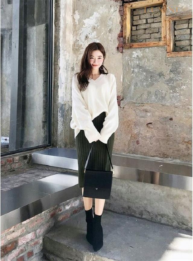 3 kiểu chân váy hot rần rần mùa Thu Đông 2020, nàng có vóc dáng khó mặc đến cũng không thể cưỡng lại được 9