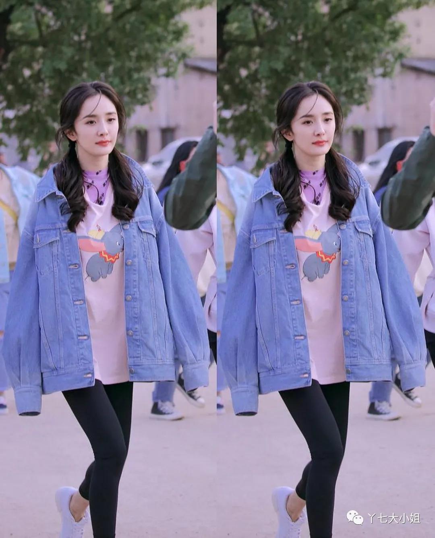 Tận dụng luôn áo phông mùa Hè cũng có bao cách diện xinh ngất trong mùa se lạnh cho nàng công sở 4