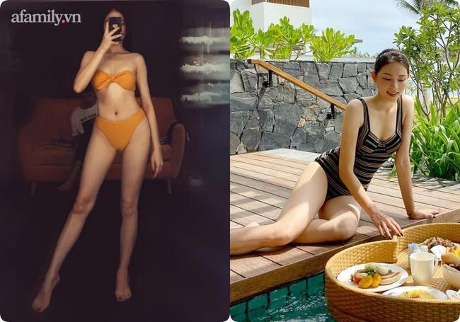 Khi độc thân thì không ngại bikini sexy, từ ngày yêu thiếu gia nhà hào môn, đến đồ bơi Linh Rin cũng kín bưng không hở 'khúc' nào 8