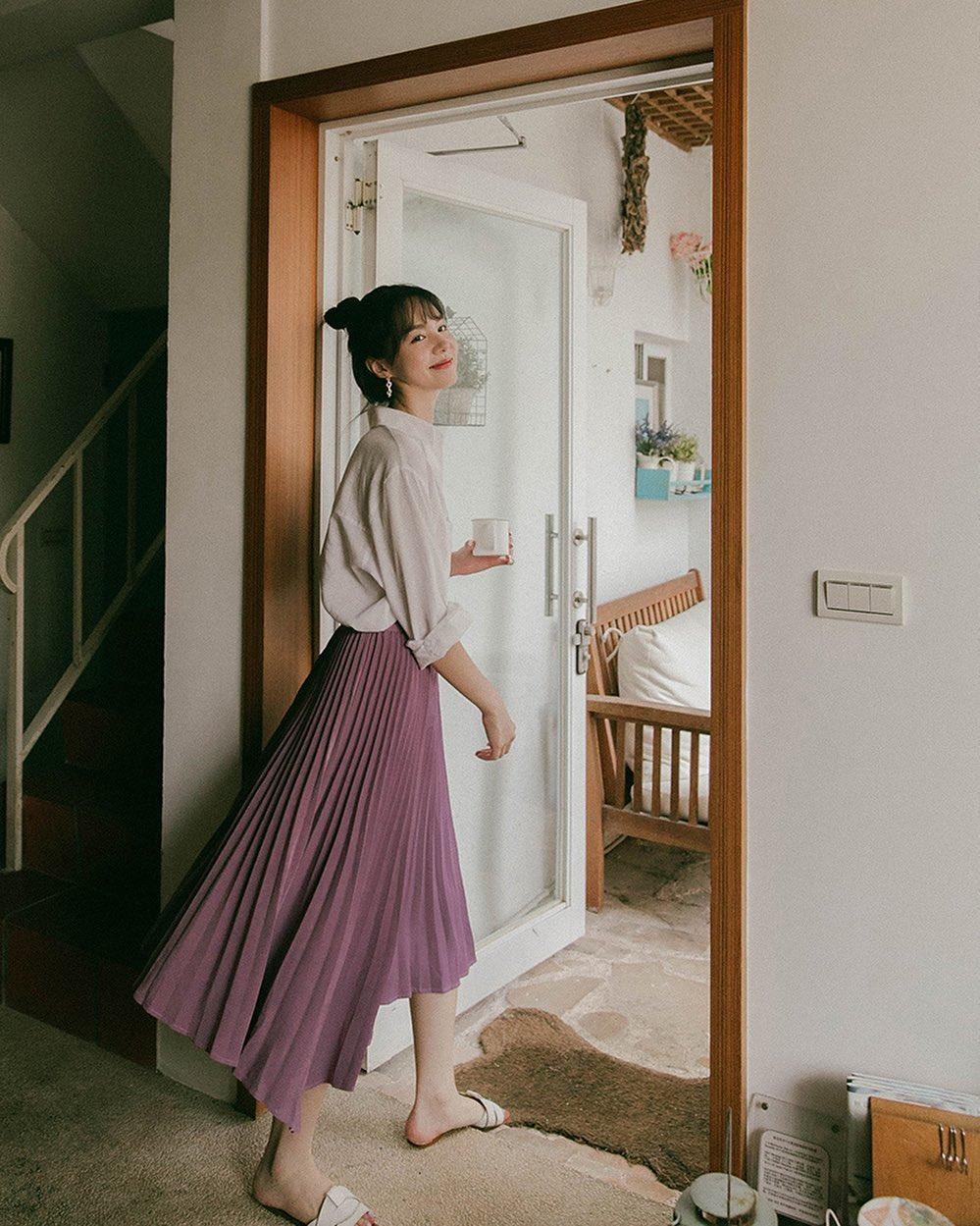5 kiểu chân váy dài xinh và sang đến mức muốn diện không ngừng, chị em sắm về dịp Black Friday là quá chuẩn 17