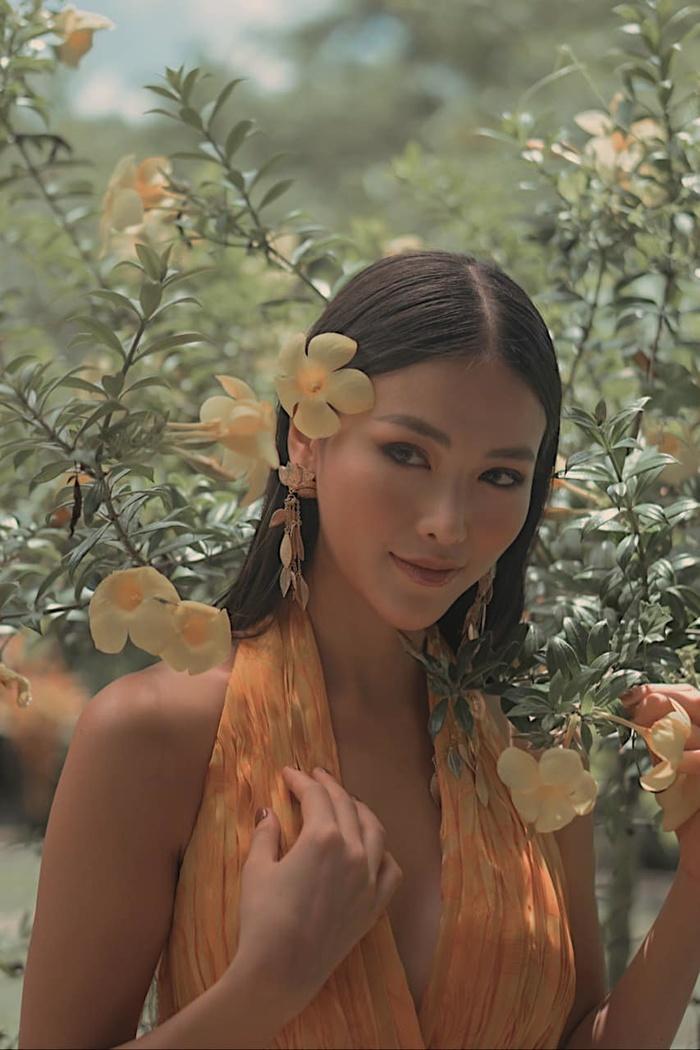 Miss Earth 2018 Phương Khánh 'đốn tim' fan bằng bộ ảnh ngoại cảnh đẹp chuẩn 'thần tiên tỷ tỷ' 0