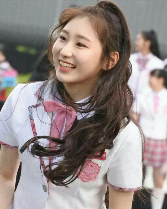 Chaeyeon tham gia Produce 48 và tạo được dấu ấn mạnh mẽ