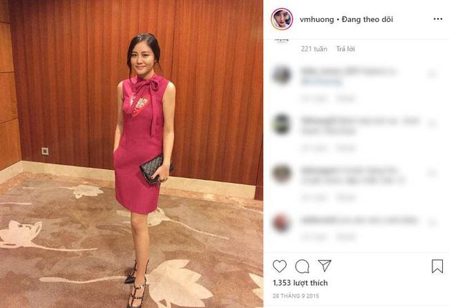 ... trùng lặp với bộ trang phục mà Văn Mai Hương đã từng chia sẻ lên trang cá nhân.