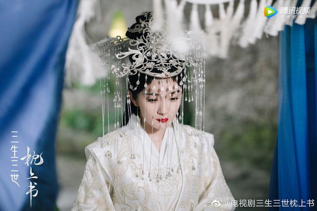 Dương Mịch làm khách mời ở 'Chẩm thượng thư'.