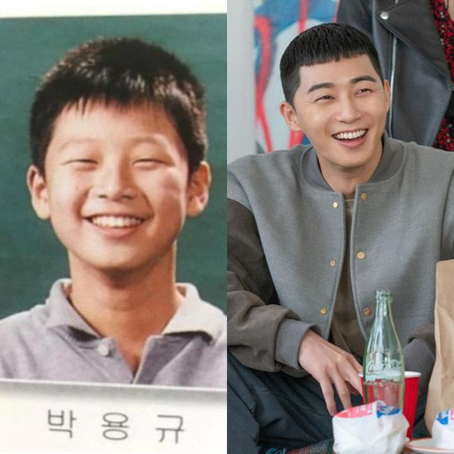Tiết lộ ảnh tốt nghiệp tiểu học 'mắt tít, mái ngố' của Park Seo Joon, ai cũng gật gù: Quả thật sinh ra để làm ông chủ quán nhậu DanBam 0
