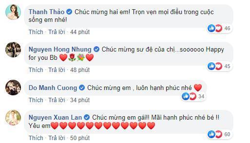 Dù không được mời dự đám cưới nhưng những sao Việt này vẫn dành lời yêu thương gửi đến Tóc Tiên sau khi cô công khai chuyện kết hôn 1