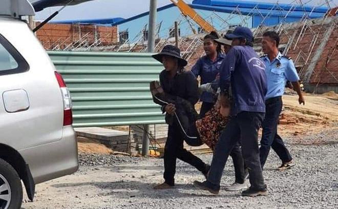 Hiện trường vụ sập tường nhà xưởng trong KCN khiến 10 người chết, nhiều người bị vùi lấp 0