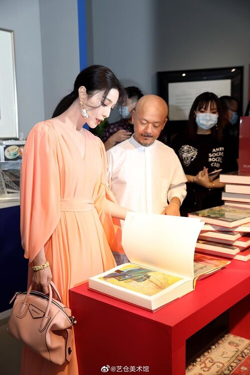 Phạm Băng Băng diện cây hàng hiệu hơn 1,5 tỷ đồng chỉ để dự triển lãm nghệ thuật 8