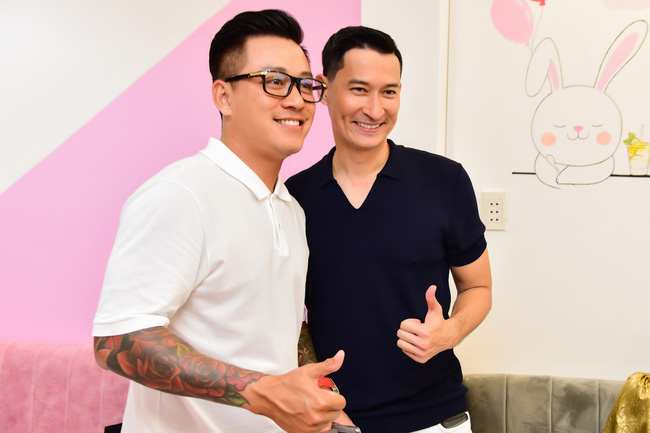 Huy Khánh và Tuấn Hưng hợp tác kinh doanh cách đây không lâu