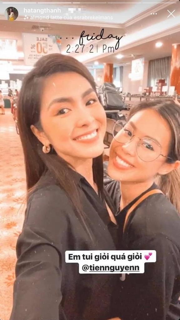 Tăng Thanh Hà công khai khen ngợi em chồng Tiên Nguyễn