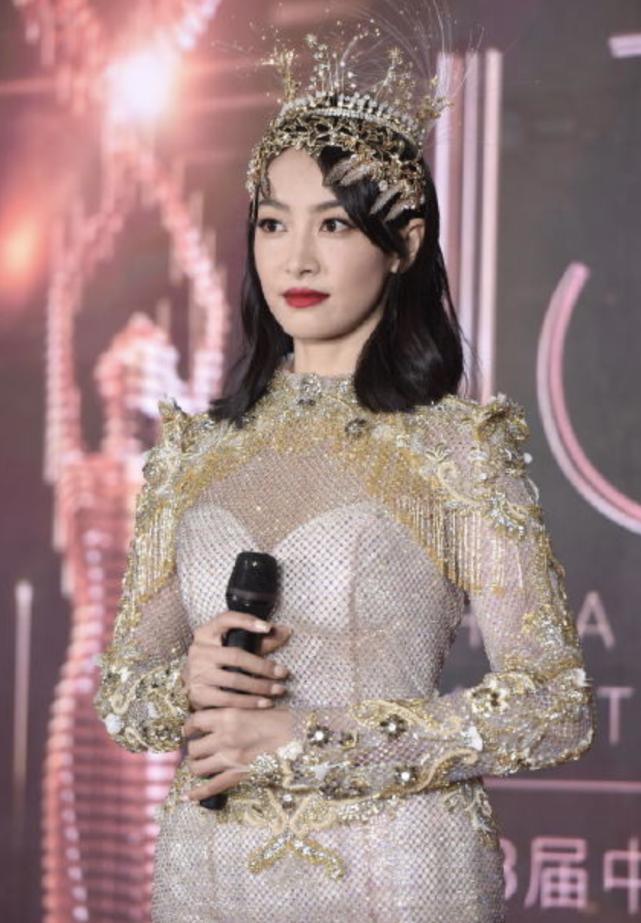 Triệu Lộ Tư gây xôn xao khi like bài viết chê bai tạo hình Nữ thần Kim Ưng của Tống Thiến 1