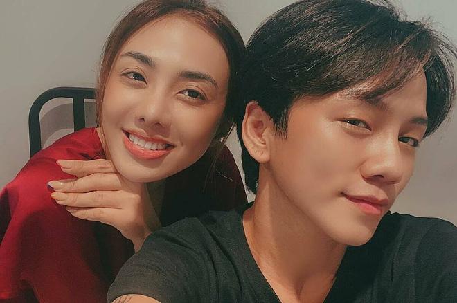 Miko Lan Trinh và bạn trai - đạo diễn Kenji.