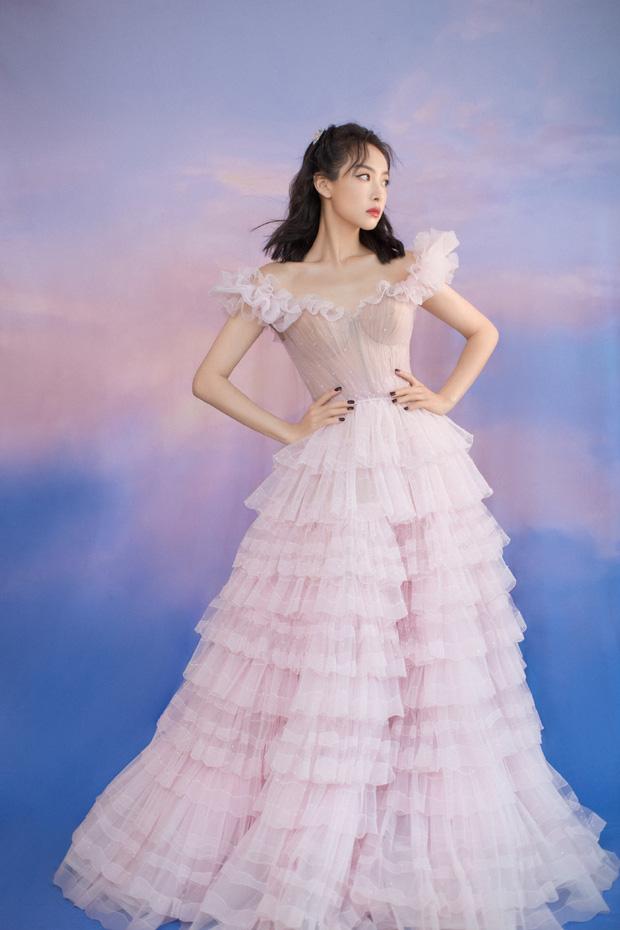 Nữ thần Kim Ưng Tống Thiến cùng chọn thương hiệu váy giống Phạm Băng Băng: Người xinh như tiên tử, người mặc lên nhìn như hàng chợ 6