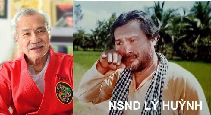 NSND Lý Huỳnh thời trẻ và ở tuổi 78