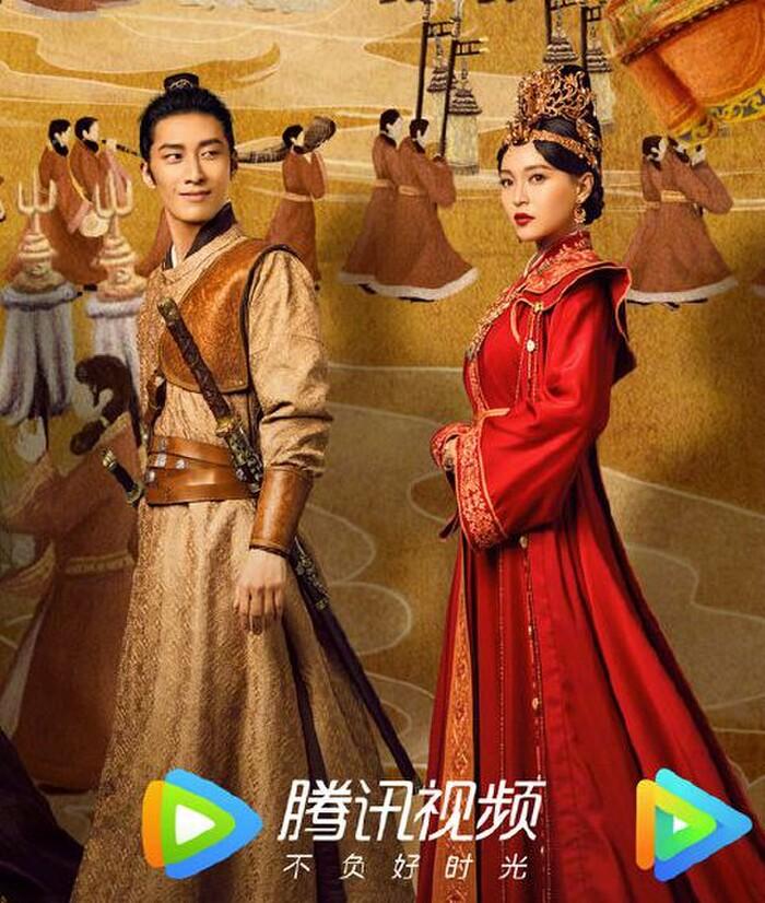 Netizen Trung chê bai poster mới của 'Yến Vân Đài' quá xấu xí: Gương mặt Xa Thi Mạn bị photoshop trông như... quả xoài 5