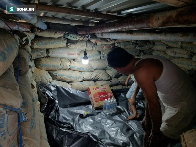 Căn hầm tránh bão số 9 độc lạ, nằm sâu dưới lòng cát của người dân vùng biển Quảng Nam 10