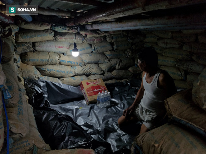 Căn hầm tránh bão số 9 độc lạ, nằm sâu dưới lòng cát của người dân vùng biển Quảng Nam 11