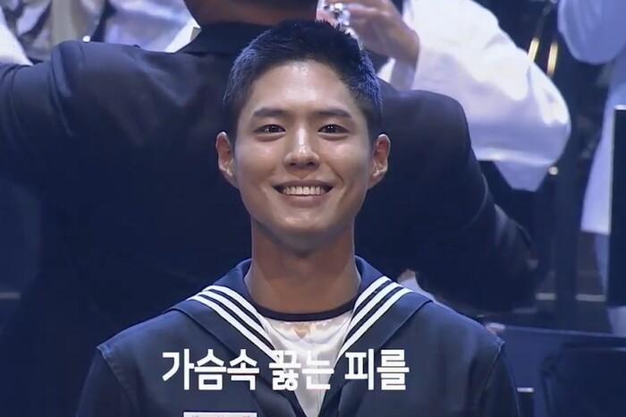 Park Bo Gum lộ diện sau khi nhập ngũ: Tá hỏa trước gương mặt chi chít mụn, dung nhan xuống cấp! 3