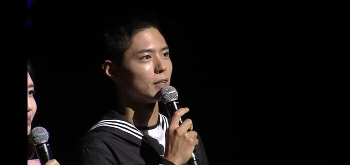 Park Bo Gum lộ diện sau khi nhập ngũ: Tá hỏa trước gương mặt chi chít mụn, dung nhan xuống cấp! 7