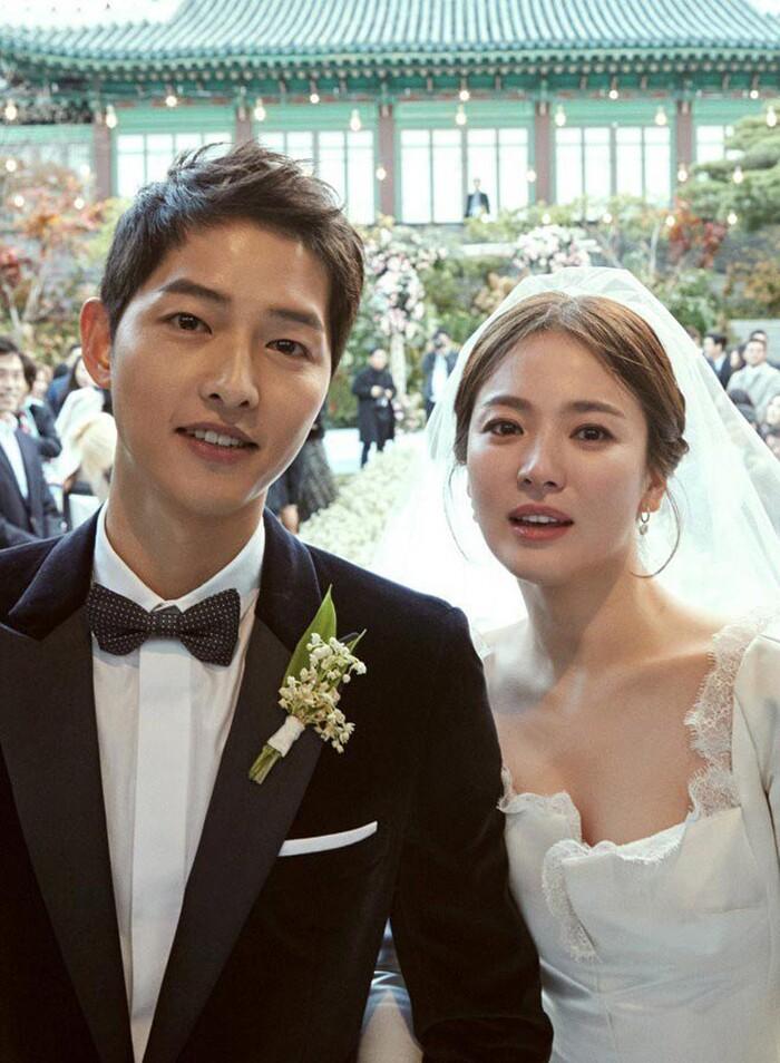 Kỷ niệm 3 năm ngày cưới: Nhìn lại 'hôn lễ thế kỷ' của Song Hye Kyo và Song Joong Ki! 3