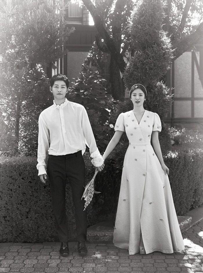 Kỷ niệm 3 năm ngày cưới: Nhìn lại 'hôn lễ thế kỷ' của Song Hye Kyo và Song Joong Ki! 4