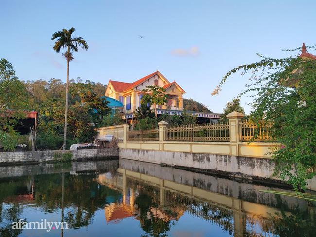 Căn nhà mà gia đình Tân Hoa hậu Việt Nam Đỗ Thị Hà đang sở hữu có tổng diện tích khá lớn.