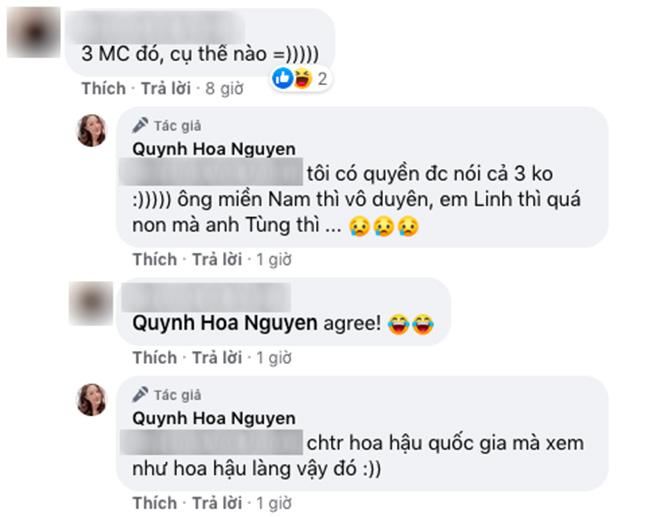 Quan điểm cá nhân của BTV Quỳnh Hoa.