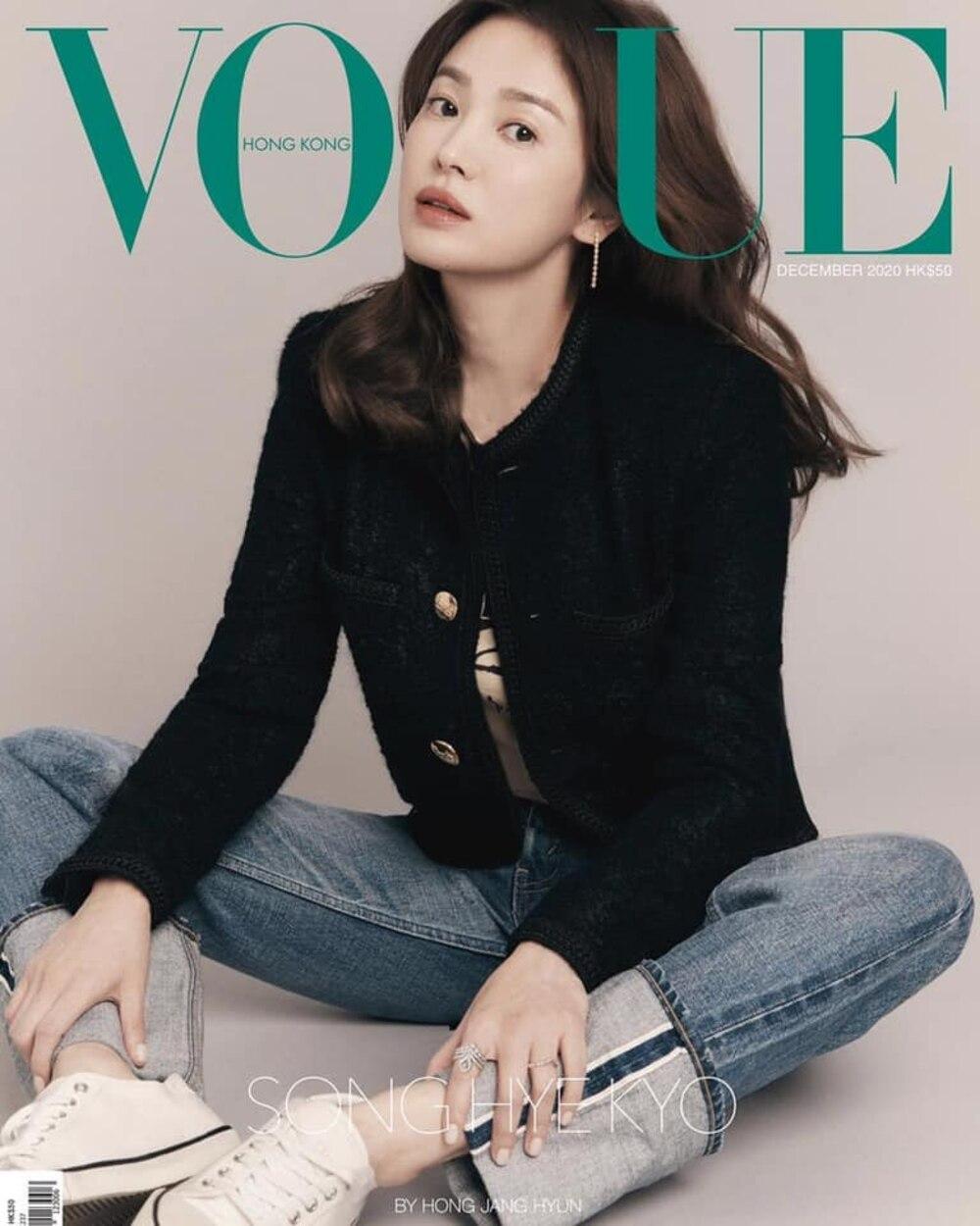 Nữ thần sắc đẹp Song Hye Kyo đụng hàng Lisa Black Pink, khó lòng phân định ai hơn ai 0