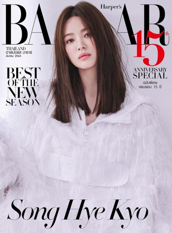 Nhan sắc thanh khiết của mỹ nhân Hàn trên bìa tạp chí Thái trong cây Dior trắng muốt từng khiến dân tình mê mẩn