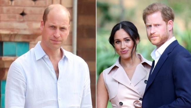 Hoàng tử William buồn vì quyết định của em trai.