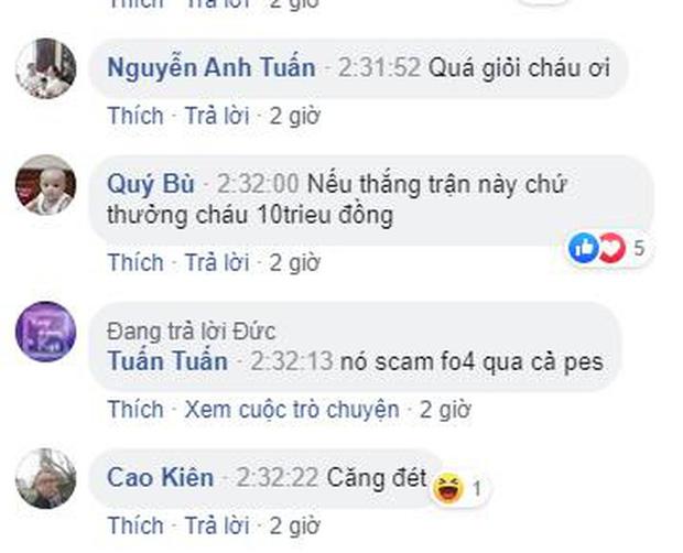 Nhiều người còn treo thưởng nóng cho thần đồng PES Việt.