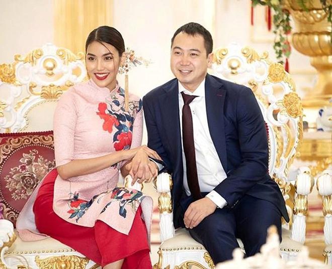 Lan Khuê kết hôn với chồng đại gia lớn hơn 5 tuổi vào tháng 10/2018.