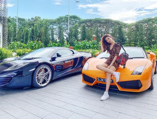 Khi làm vợ John Tuấn Nguyễn, Lan Khuê được hưởng một cuộc sống giàu có.