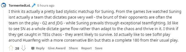 Cộng đồng phân tích sức mạnh của Top Esports và chỉ ra cơ hội để Suning thắng trận Bán Kết sắp tới 9