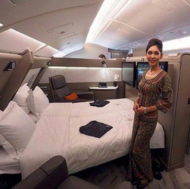 Muốn biết khoang máy bay hạng nhất, thương gia và phổ thông khác nhau ra sao, cứ nhìn vào hãng hàng không tốt nhất thế giới này là chuẩn nhất! 16