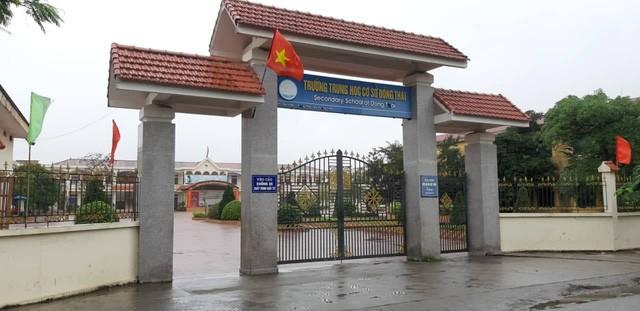 Phó hiệu trưởng THCS Đồng Thái bị tố kỷ luật học sinh kiểu ngược đãi