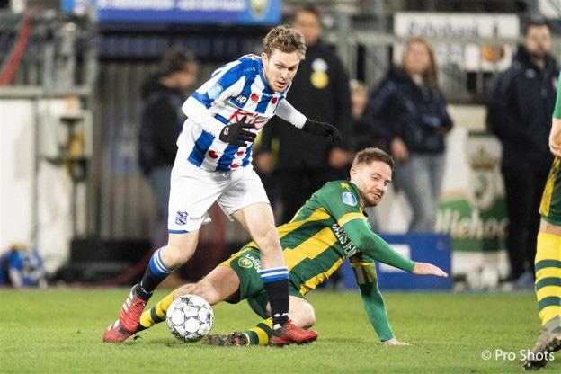 Halilovic được HLV Jansen tung vào sân trong hiệp 2 và đã tỏa sáng giúp Heerenveen thoát được trận thua ngay trên sân nhà.