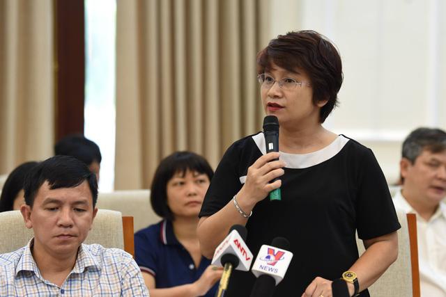 TS Nguyễn Thu Thủy, quyền Vụ trưởng Vụ Giáo dục Đại học, Bộ Giáo dục và Đào tạo cập nhật thông tin về số lượng thí sinh đăng ký dự thi tốt nghiệp THPT năm 2020.