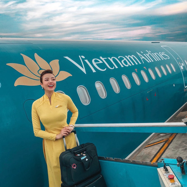 Nữ tiếp viên trưởng xinh đẹp của Vietnam Airlines bật mí thu nhập thật và quá trình lên chức gắt gao 6