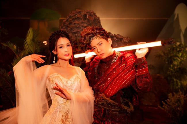 Ngô Kiến Huy hé lộ tạo hình Tôn Ngộ Không siêu điển trai bên cạnh nàng 'tiểu thư' Sam xinh đẹp ngút ngàn 6