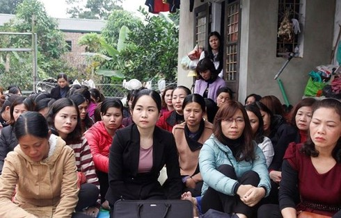 Trong 256 giáo viên hợp đồng trên địa bàn huyện, có 69 người đã bỏ thi. Ảnh: HH