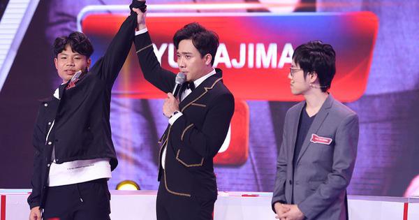 Cậu bé 14 tuổi đã giành chiến thắng trước Yu Sajima tại vòng giao hữu quốc tế ở Siêu trí tuệ Việt Nam.