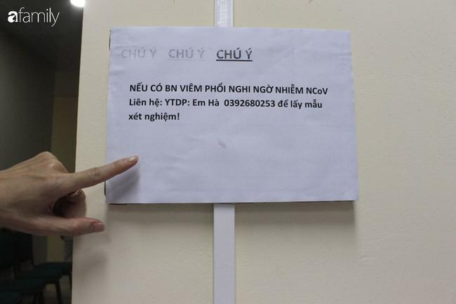 Thông báo của bệnh viện