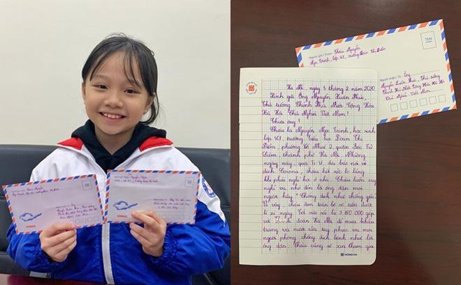 Nội dung thư bé gái lớp 4 gửi Thủ tướng xin góp hơn 3 triệu tiền mừng tuổi mua khẩu trang chống dịch 0