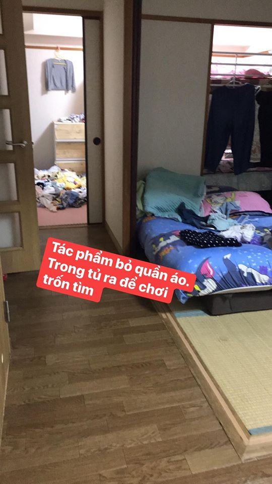 Mẹ trẻ tự mình 'ghét nhà' vì những tác phẩm nhét giấy cho tắc bồn cầu, mang vỏ chuối lên giường bóp nát của các con 2
