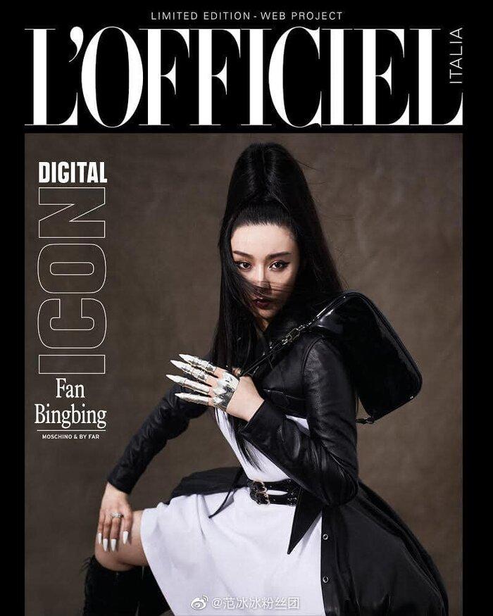 Phạm Băng Băng trên bìa tạp chí quốc tế cũ thể là tờ L'OFFICIEL đến từ nước Ý